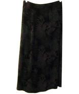 WHITE HOUSE BLACK MARKET XL LINDEN HILL BLACK PURPLE GRAY LEAF PRINT TRA... - $34.99