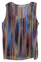 LIZ CLAIBORNE 2 PIECE SLEEVELESS TOP SET NWT SIZE LARGE - $29.99