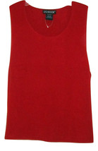 J.G. HOOK RED SLEEVELESS WOMENS SWEATER SIZE XL FREE SHIP - $24.99