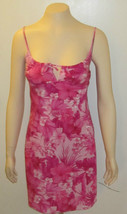 Charlotte Russe Hibiscuis Sexy Floral Pink Summer Dress Size Small - $29.99