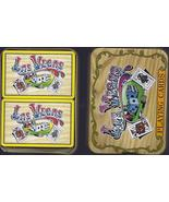 Double Deck of Cards Las Vegas Playing Cards in metal tin, New - $9.95