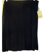 FERN BRATTEN FOR MELROSE DILLARD'S BLACK SKIRT NWT SIZE 3X - $39.99