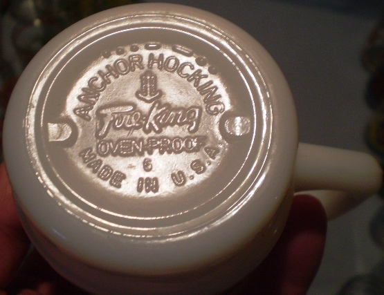 Fire King/Anchor Hocking Mugs Lot of 7