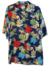 THE HAWAIIAN ORIGINAL HILO HATTIE MENS CASUAL SHIRT SIZE LARGE - $24.99