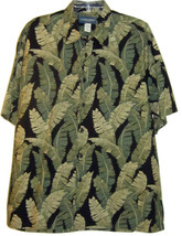 COOKE STREET HONOLULU MENS CASUAL GREEN BUTTON FRONT SHIRT SIZE LARGE - $21.99