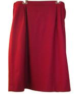 JOAN LESLIE DILLARDS NEW FUCHSIA WOOL BLEND SKIRT SIZE 22W - $49.99