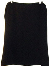 JONES NEW YORK WOMAN MACY'S PROFESSIONAL BLACK  SKIRT SIZE 22W NWT - $39.99