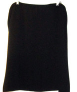 JONES NEW YORK WOMAN MACY'S PROFESSIONAL BLACK  SKIRT SIZE 22W NWT - $39.99