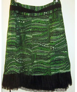 NYGARD COLLECTION DILLARD'S WOMEN'S NEW CRINKLE AWESOME SKIRT SIZE 24 2X... - $49.99