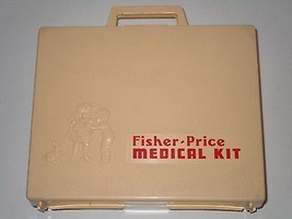 Vintage Fisher Price 1977 Medical Kit # 936  - $24.74