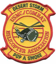 USMC Combat Helicopter Association Desert Storm  Patch - $1,000.00