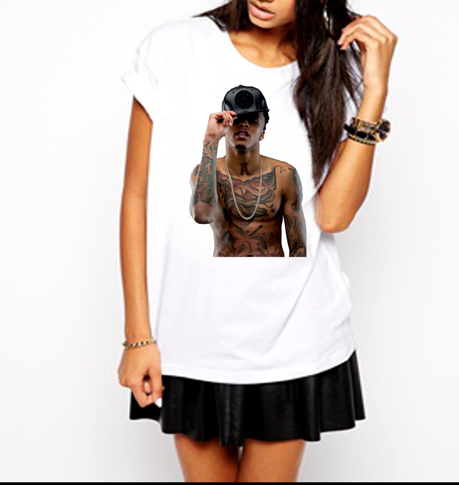 August Alsina R&B Artist Singer Testimony Ladies T-Shirt for sale  USA