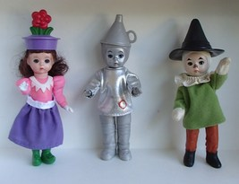Madame Alexander Tin Man Scarecrow Flower Munch... - $12.99