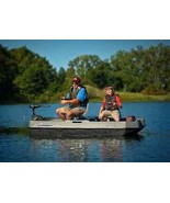 2 Man Fishing Boat Electric Built In Rear Motor Mount Handrails Fisherma... - $818.39