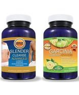 Pure Garcinia Cambogia Extract PLUS Detox Cleanse SYSTEM! - Get FAST RES... - $50.99