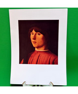 """Fine Art Prints - """"Portrait of a Young Man"""" By Antonella Da Massina, 9 X 12 - $3.95"""