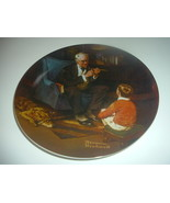 Norman Rockwell The Tycoon Plate 1982 Vintage - $12.99