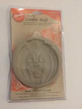 WILTON Pumpkin Cookie Mold Ovenproof Halloween Handcrafted Baking Mold NEW - $18.80