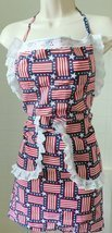 Apron- American flag-Hand made-Made in USA  - €16,31 EUR
