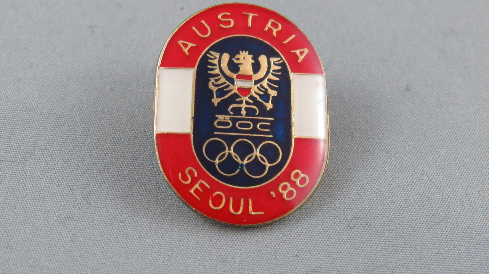Primary image for 1988 Summer Olympic Games - Seoul South Korea - Team Austria OOC Pin - Rare