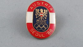 1988 Summer Olympic Games - Seoul South Korea - Team Austria OOC Pin - R... - $19.00