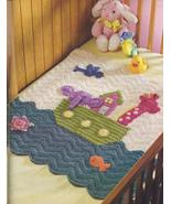 Crochet Magazine 2008~Noah's Ark Baby Afghan~Baby Animal Trims~C PICS - $32.99