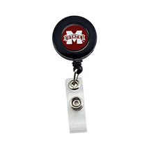 NCAA Mississippi State Bulldogs Retractable Badge Reel Id Ticket Clip - $9.32