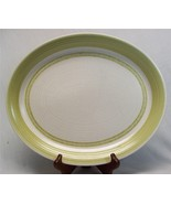 "Franciscan Hacienda Green on Cream 90-72 Earthenware 14"" Oval Serving Pl... - $11.26"