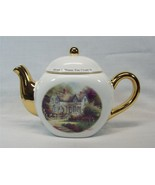 Thomas Kinkade Home Is Where The Heart Is II Porcelain Teleflora Teapot ... - $6.85