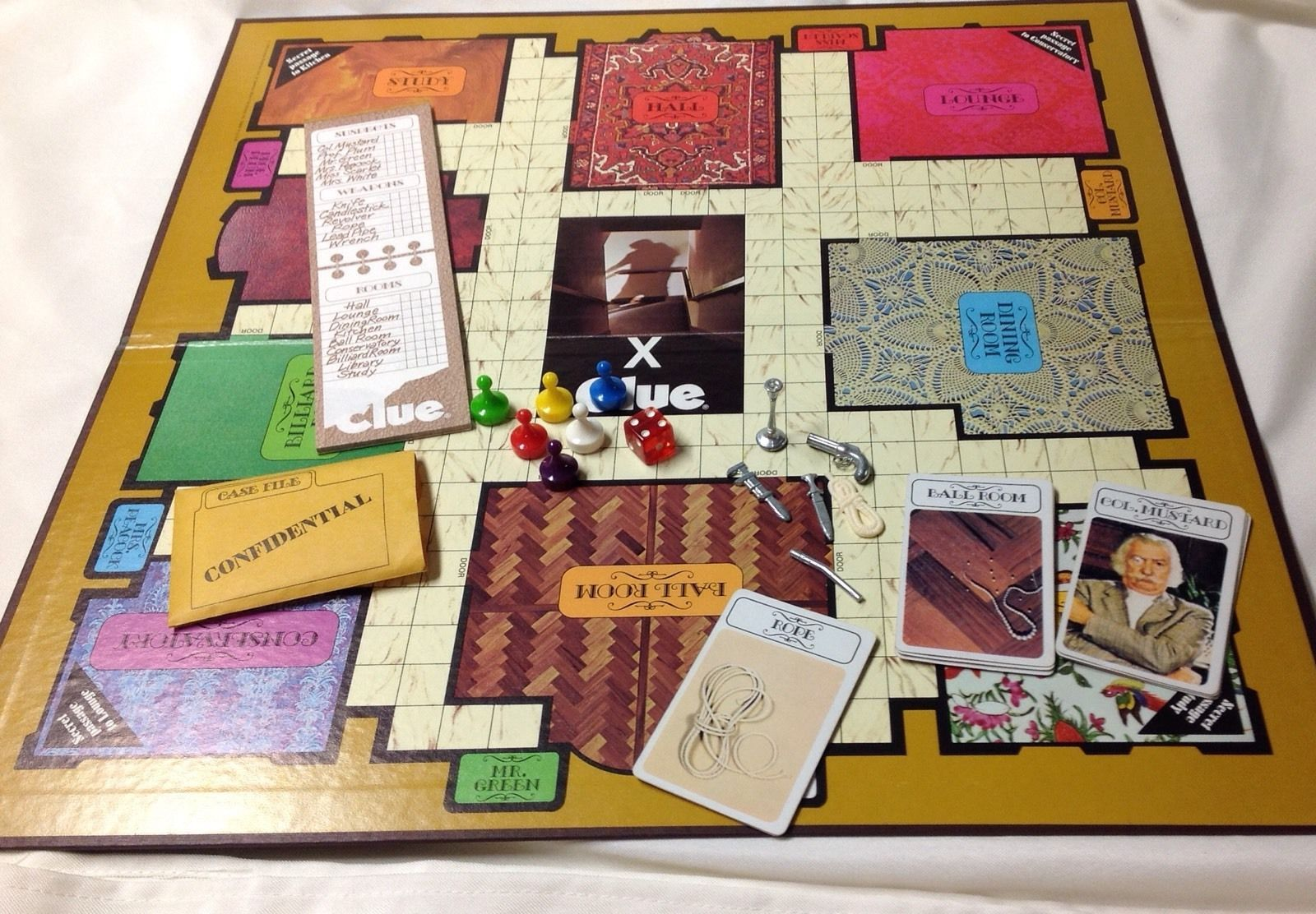 board games similar to clue