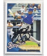 Julio Borbon signed autographed card 2010 Topps - $9.90