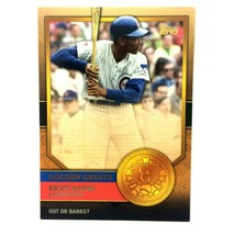 Ernie Banks 2012 Topps Golden Greats Insert #GG-81 MLB HOF Chicago Cubs - $2.92
