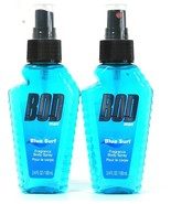 2 Bottles Bod Man 3.4 Oz Blue Surf Fragrance Body Spray - $19.99