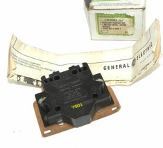 NIB GENERAL ELECTRIC CR205X100A AUXILIARY CONTACT KIT CR205X