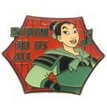 Disney  Mulan  Honor to Us All Magical Musical Moments pin/pins - $38.69