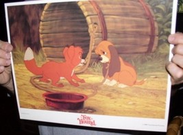 Disney Fox and the Hound Looking dated 1981 Lobby Card - $24.18