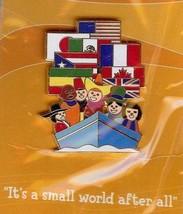 Disneyana 2000 Small World LE on card  #12 pin/pins - $57.99