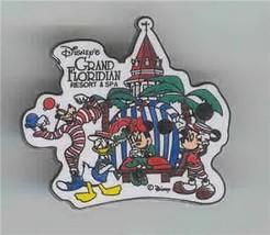 Disney Goofy, Donald, Mickey Minnie Floridian pin/pins - $19.34