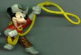 Disney Mickey Mouse Western  PVC Figurine - $19.34