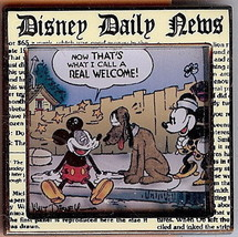 Disney Daily News Comic Strip Series #4   Pin/Pins - $29.02