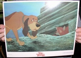Disney Fox & the Hound hiding dated 1981 Lobby Card - $24.18