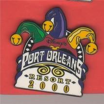 Disney WDW Court jester hat Port Orleans 2000   pin/pins - $21.28