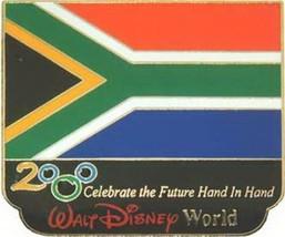 Disney Millennium Village Pavilion Africa Flag pin - $38.69