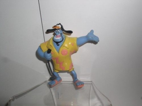 The Genie on Vacation in Goofy Hat PVC from Disney Aladdin Figurine - $19.34