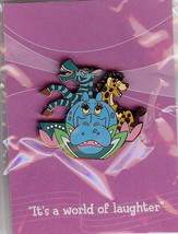 Disneyana 2000 Small World of laughter on card pin/pins - $58.04