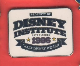 Disney WDW Property of Disney Institute Established 1996  pin/pins - $19.34