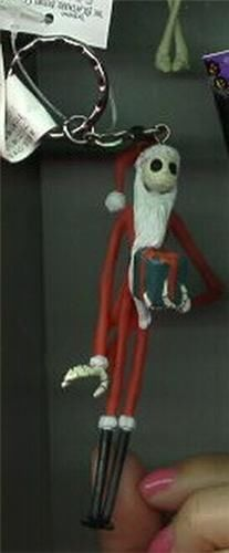 Jack Santa key chain Nightmare Before Christmas Japan Jun Planning