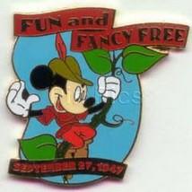 Disney Mickey Mouse  Fun Fancy Free dated 1947 pin - $15.47