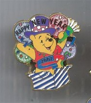 Winnie the Pooh Happy New Year Authentic Disney Pin - $19.34