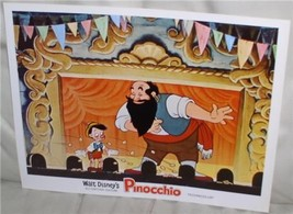 Disney Pinocchio with Stromboli Puppet show Lobby Card - $24.18